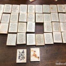 Cajas de Cerillas: COLECCION CAJA CERILLAS FOSFORERA ESPAÑOLA - COLECCION PERROS. Lote 143825162