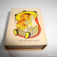 Cajas de Cerillas: (TC-125) CAJA CERILLAS VACIA FOSFORERA CANARIENSE. Lote 143990262