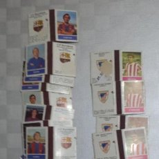 Cajas de Cerillas: LOTE CAJAS DE CERILLAS FUTBOL. Lote 144583166