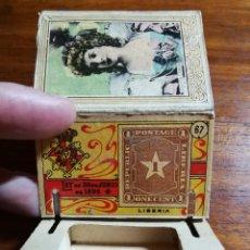 Cajas de Cerillas: CAJA DE CERILLAS DEL GREMIO DE FABRICANTES ( 100 AÑOS, APROX ) SELLOS NÚMERO 67 ( LIBERIA ). Lote 144739978