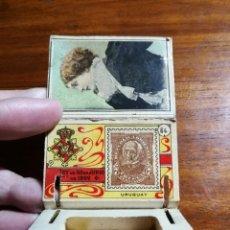 Cajas de Cerillas: CAJA DE CERILLAS DEL GREMIO DE FABRICANTES ( 100 AÑOS, APROX ) SELLOS NÚMERO 64 ( URUGUAY ). Lote 144740458