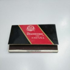 Cajas de Cerillas: CAJA DE CERILLAS STANHOME. TDKP13. Lote 144916170