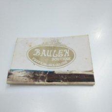 Cajas de Cerillas: CAJA DE CERILLAS BAULEN BOUTIQUE BARCELONA. TDKP13. Lote 144916210