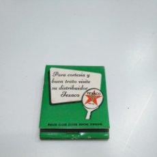 Cajas de Cerillas: CAJA DE CERILLAS TEXACO. TDKP13. Lote 144923794