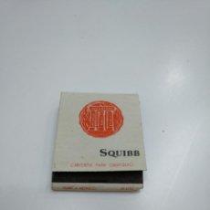 Cajas de Cerillas: CAJA DE CERILLAS SQUIBB. TDKP13. Lote 144988198