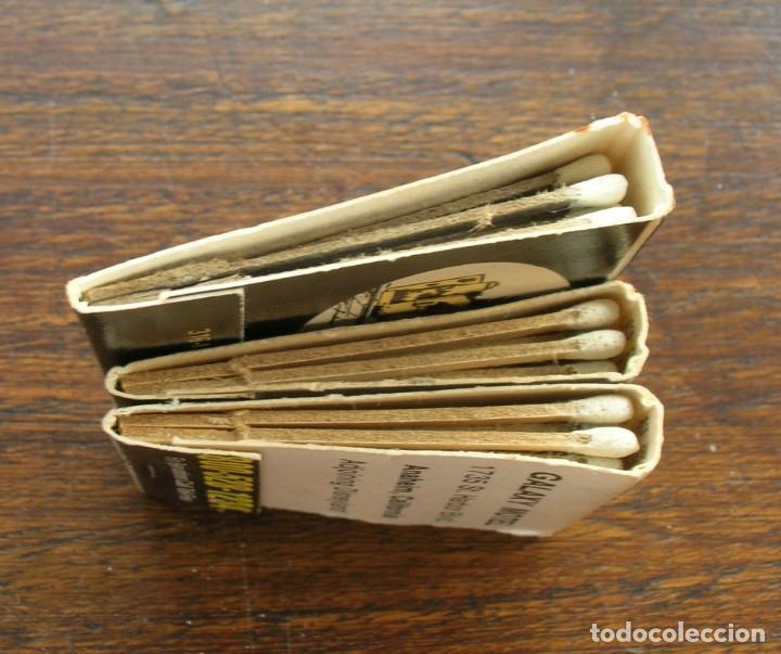 Cajas de Cerillas: CARTERAS CERILLAS: BEST WESTERN (GALAXY MOTEL) Y LOS GATOS (PEDRO´S COMIDA MEXICANA) CALIFORNIA - Foto 4 - 146277834