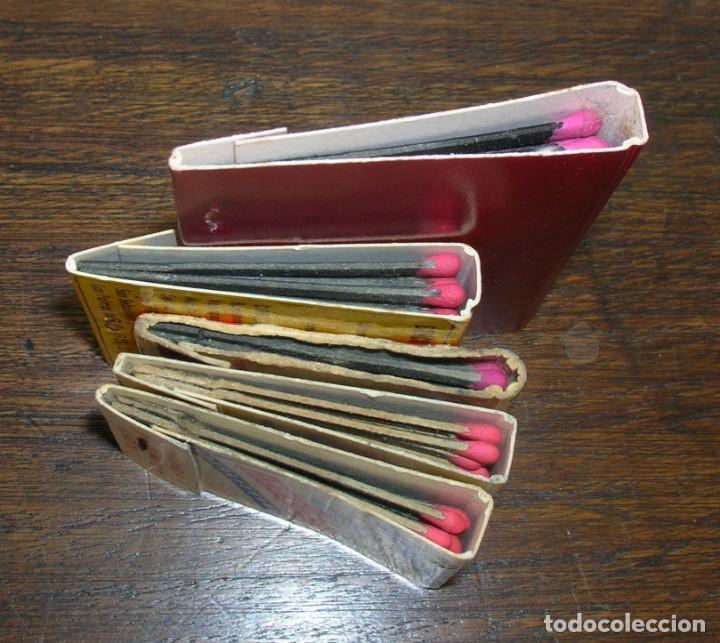 Cajas de Cerillas: CARTERAS CERILLAS: BANCO EXTERIOR ESPAÑA, WINSTON, L&M, HOLLYWOOD Y ACADEMIA DE LA RIVA - Foto 4 - 146279982
