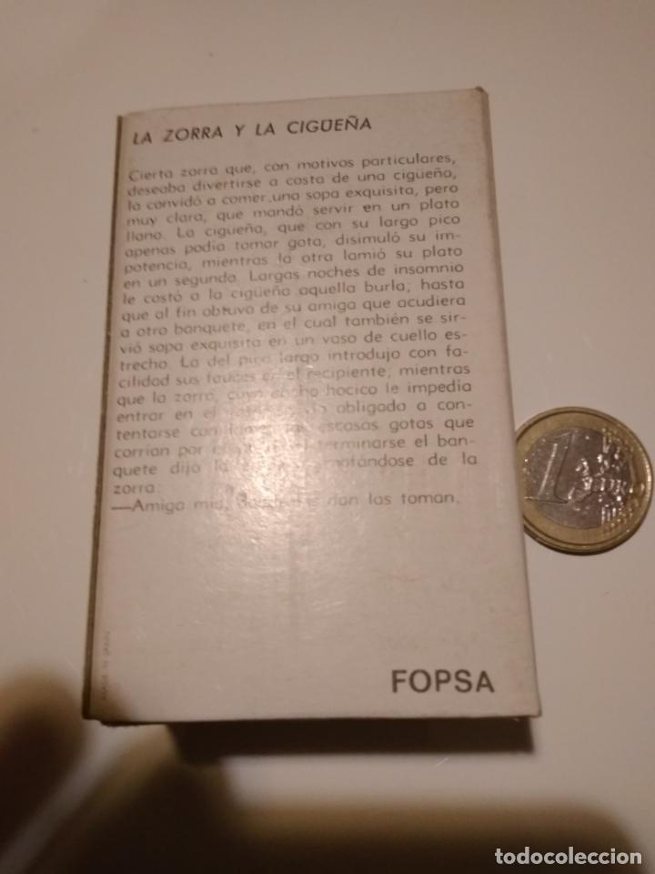 Cajas de Cerillas: Caja de cerillas La zorra y la cigüeña - Foto 2 - 146441070