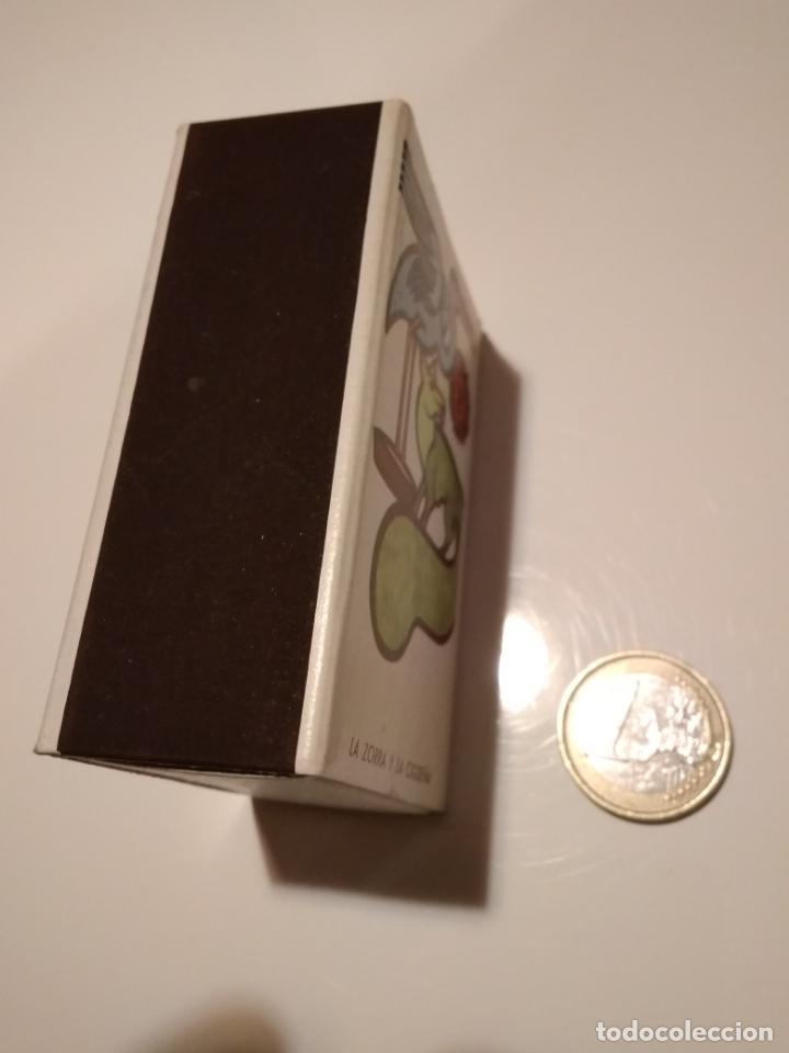 Cajas de Cerillas: Caja de cerillas La zorra y la cigüeña - Foto 3 - 146441070