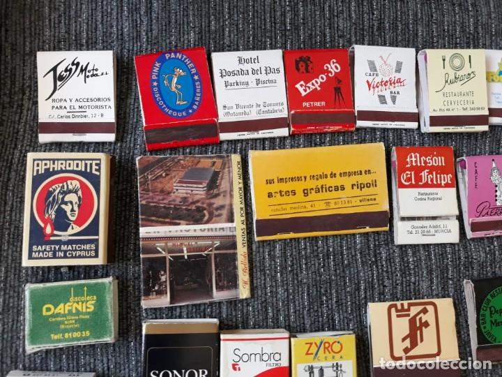 Cajas de Cerillas: Lote de mas de 100 cajas de cerillas antiguas - Foto 2 - 146601422