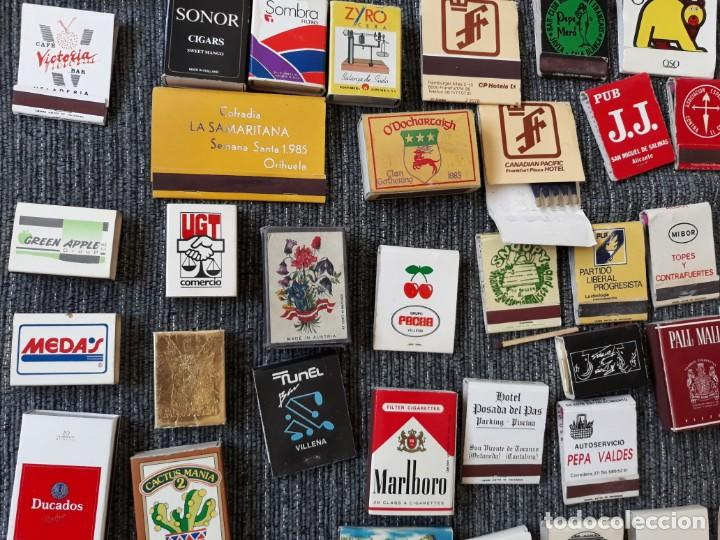 Cajas de Cerillas: Lote de mas de 100 cajas de cerillas antiguas - Foto 4 - 146601422