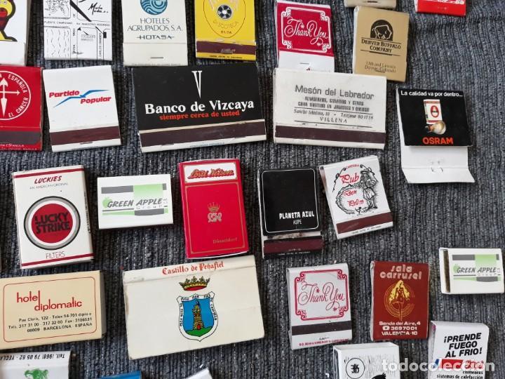 Cajas de Cerillas: Lote de mas de 100 cajas de cerillas antiguas - Foto 6 - 146601422