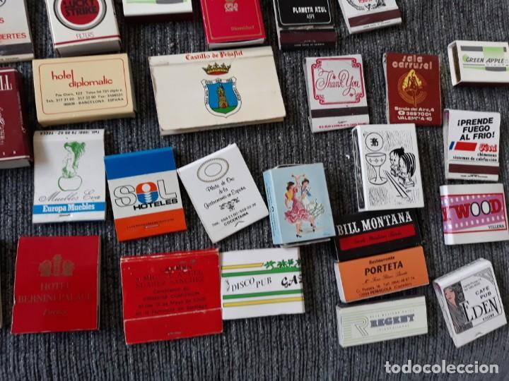 Cajas de Cerillas: Lote de mas de 100 cajas de cerillas antiguas - Foto 7 - 146601422
