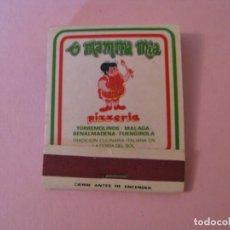 Cajas de Cerillas: CARTERITA DE CERILLAS. PIZZERIA MAMMA MIA. MALAGA. MUNDIAL 82.. Lote 146738634