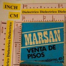 Cajas de Cerillas: CAJA CAJETILLA DE CERILLAS. INMOBILARIA MARSAN. Lote 147101126