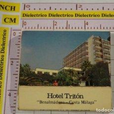 Cajas de Cerillas: CAJA CAJETILLA DE CERILLAS. HOTEL TRITÓN, BENALMÁDENA. COSTA MÁLAGA. Lote 147101250