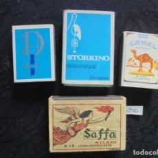 Cajas de Cerillas: 4 CAJAS CERILLAS VINTAGE . Lote 147493850