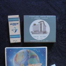 Cajas de Cerillas: 3 CAJAS/LIBRITOS CERILLAS VINTAGE . Lote 147494150