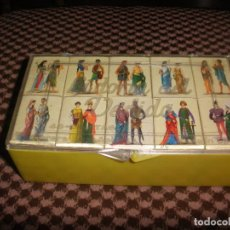 Cajas de Cerillas: CAJAS DE CERILLAS EN ESTUCHE OFICIAL FESA SERIE HISTORIA DEL VESTIDO COMPLETA. Lote 147737222
