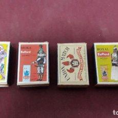 Cajas de Cerillas: LOTE 4 CAJAS CERILLAS .... Lote 147750722