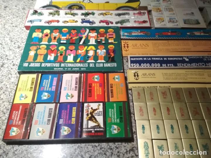 Cajas de Cerillas: Coleccion de cerillas años 60-70-80 - 1300 cajetillas aproximadamente - Foto 4 - 147780114