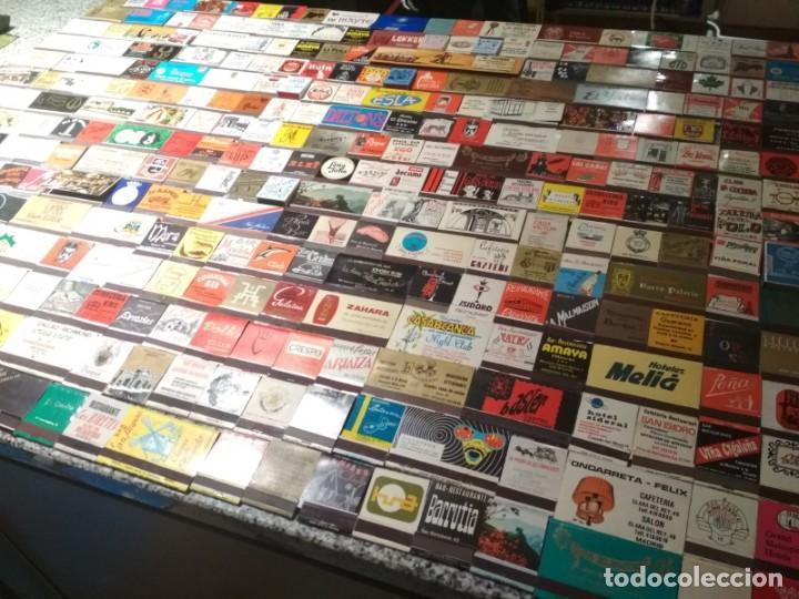 Cajas de Cerillas: Coleccion de cerillas años 60-70-80 - 1300 cajetillas aproximadamente - Foto 6 - 147780114