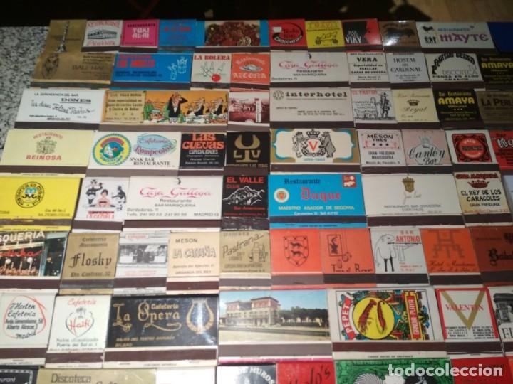 Cajas de Cerillas: Coleccion de cerillas años 60-70-80 - 1300 cajetillas aproximadamente - Foto 7 - 147780114