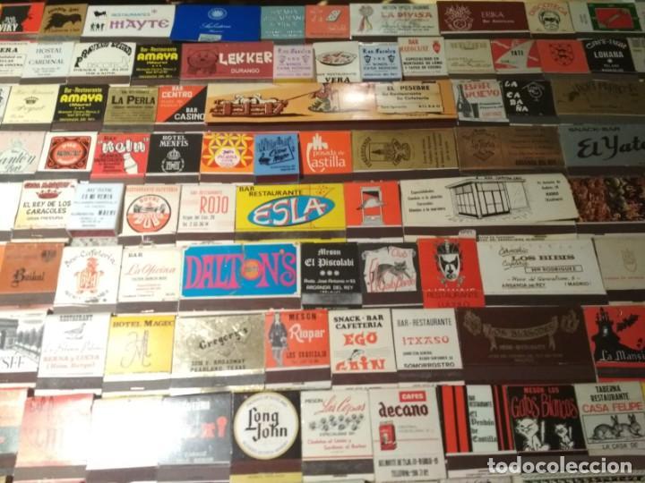 Cajas de Cerillas: Coleccion de cerillas años 60-70-80 - 1300 cajetillas aproximadamente - Foto 8 - 147780114
