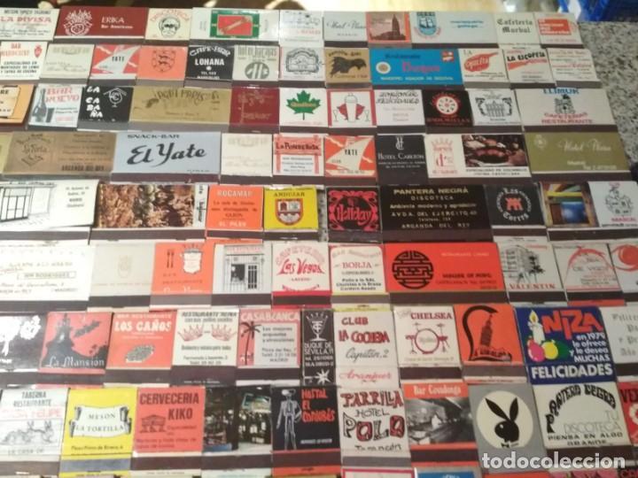 Cajas de Cerillas: Coleccion de cerillas años 60-70-80 - 1300 cajetillas aproximadamente - Foto 9 - 147780114