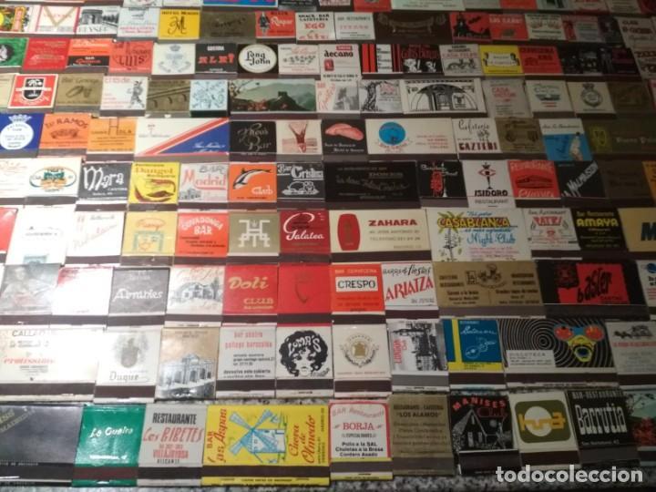 Cajas de Cerillas: Coleccion de cerillas años 60-70-80 - 1300 cajetillas aproximadamente - Foto 11 - 147780114