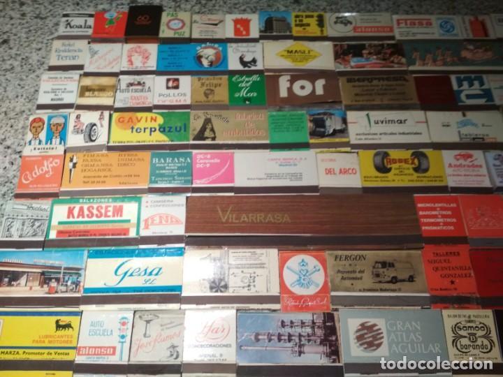 Cajas de Cerillas: Coleccion de cerillas años 60-70-80 - 1300 cajetillas aproximadamente - Foto 13 - 147780114