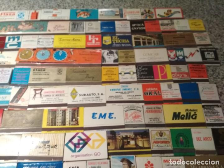 Cajas de Cerillas: Coleccion de cerillas años 60-70-80 - 1300 cajetillas aproximadamente - Foto 14 - 147780114