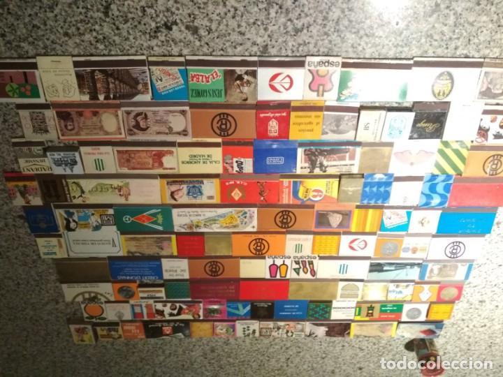 Cajas de Cerillas: Coleccion de cerillas años 60-70-80 - 1300 cajetillas aproximadamente - Foto 17 - 147780114