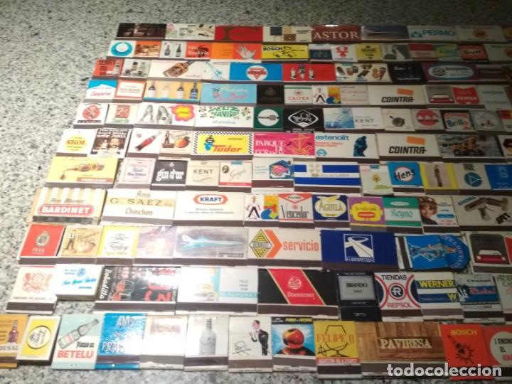Cajas de Cerillas: Coleccion de cerillas años 60-70-80 - 1300 cajetillas aproximadamente - Foto 18 - 147780114