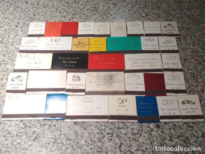 Cajas de Cerillas: Coleccion de cerillas años 60-70-80 - 1300 cajetillas aproximadamente - Foto 20 - 147780114