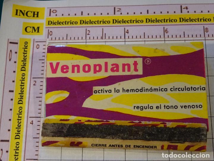 CAJA CAJETILLA DE CERILLAS. MEDICINAS MEDICAMENTOS. VENOPLANT (Coleccionismo - Objetos para Fumar - Cajas de Cerillas)