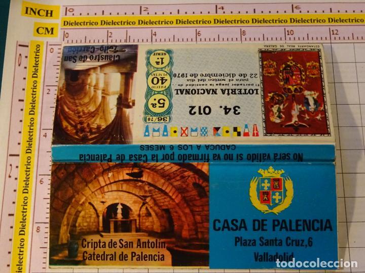 CAJA CAJETILLA DE CERILLAS. CASA DE PALENCIA EN VALLADOLID. CRIPTA DE SAN ANTOLÍN (Coleccionismo - Objetos para Fumar - Cajas de Cerillas)