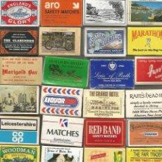 Cajas de Cerillas: LOTE DE 72 CAJAS DE CERRILLAS 27 CON CERRILLAS . Lote 148674266