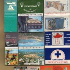 Cajas de Cerillas: 10 CAJAS DE CERILLAS. Lote 148731962