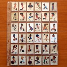 Cajas de Cerillas: COLECCIÓN FUTBOLISTAS - COMPLETA 40 CAJAS DE CERILLAS - FOSFORERA ESPAÑOLA 1960. Lote 149447126