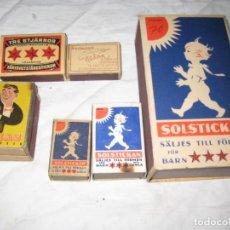 Cajas de Cerillas: 10 CAJAS DE CERILLAS. Lote 149613266