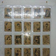 Cajas de Cerillas: 75 FOTOTIPIAS ANTIGUAS DE CAJAS DE CERILLAS COMPLETA , SERIE 2. Lote 149765446