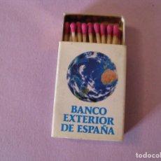 Cajas de Cerillas: CERILLAS BANCO EXTERIOR DE ESPAÑA. SIN USAR.. Lote 150295138