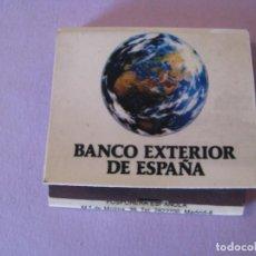 Cajas de Cerillas: CERILLAS BANCO EXTERIOR DE ESPAÑA. SIN USAR.. Lote 150295186