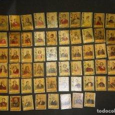 Cajas de Cerillas: 69 FOTOTIPIAS ANTIGUAS DE CAJAS DE CERILLAS , SERIE 22, NO HAY REPETIDAS , FALTAN 6 LEER. Lote 150705074