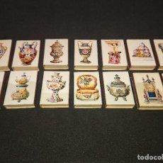 Cajas de Cerillas: 14 CAJAS DE CERILLAS CERAMICA ITALIANA , DESCRIPCION DEBAJO.. Lote 151334190