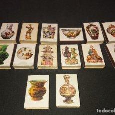 Cajas de Cerillas: 14 CAJAS DE CERILLAS CERAMICA CHINA , DESCRIPCION DEBAJO.. Lote 151334302