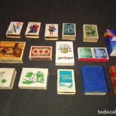 Cajas de Cerillas: 14 CAJAS DE CERILLAS DE DIVERSOS TEMAS Y AÑOS , DESCRIPCION DEBAJO.. Lote 151335146