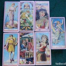 Cajas de Cerillas: LOTE 7 CAJAS DE CERILLAS FOSFOROS REPRODUCIÓN ETIQUETA SIGLO XIX BIEN CONSERVADAS. Lote 151353842