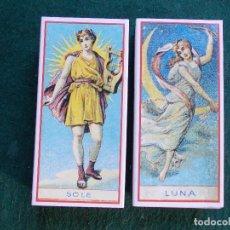 Cajas de Cerillas: LOTE 2 CAJAS DE CERILLAS FOSFOROS REPRODUCIÓN ETIQUETA SIGLO XIX BIEN CONSERVADAS. Lote 151354422